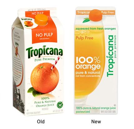 Tropicana Package Design